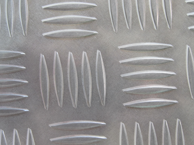 1/4 Aluminum Diamond Tread Deck Plate 12 x 18 6061-T6