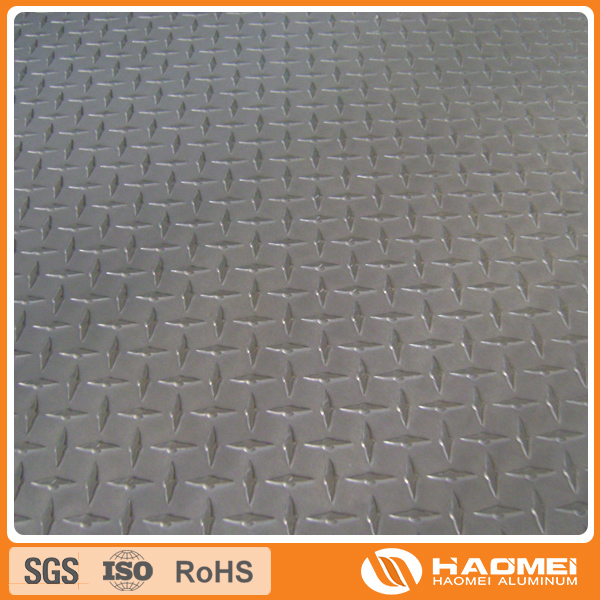 aluminium checker plate floor
