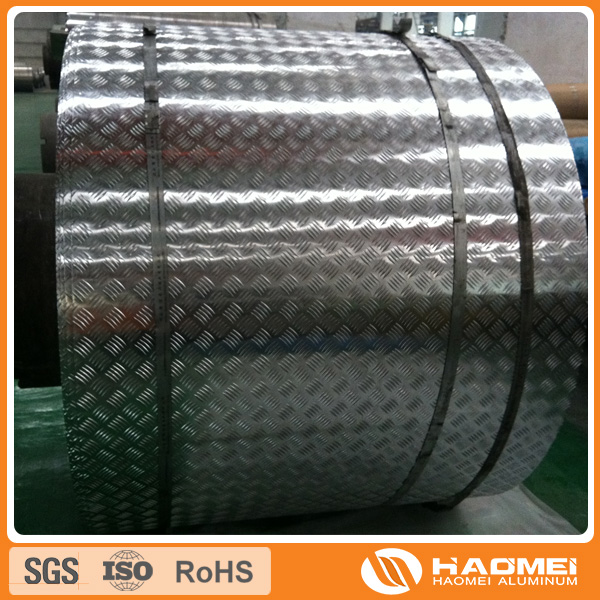 5mm aluminium tread plate weight